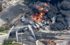 آتشسوزی قطار نیشابور